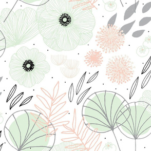 Spring Floral by Friztin