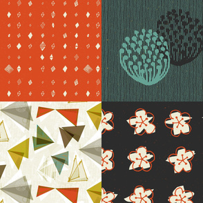 Geo Butterfly Collection Sampler by Friztin