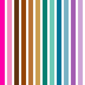 Rainbow Stripes - Other Colors