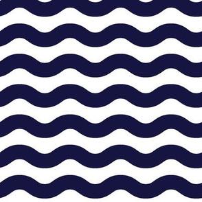 Frederick Navy Blue Wave