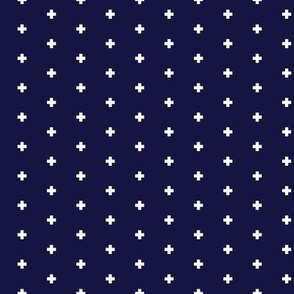 Frederick Navy Blue Pluses