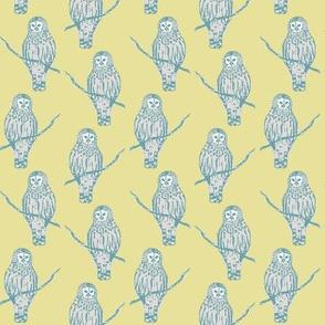 Sir Oswald Owl in Yellow