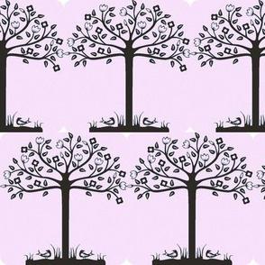 Spring Pink Trees