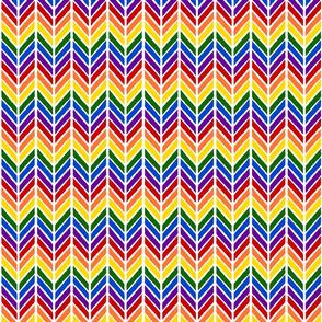 Herringbone - Rainbow 2 inch