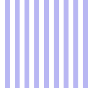 Vertical Stripe ~ Regency and White