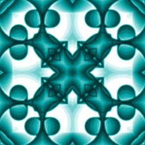 voxel_circles_001v4_turquoisen-white