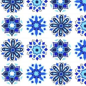 Moroccan Blue