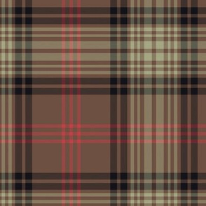 "Ross Hunting Weathered tartan - 12"" (full size)"