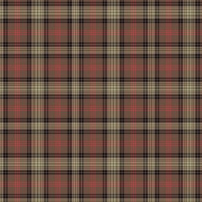 """Ross Hunting Weathered tartan - 3""""  (1/4 scale)"""