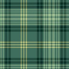 "Ross Hunting tartan - green variant, 12"" (full size)"