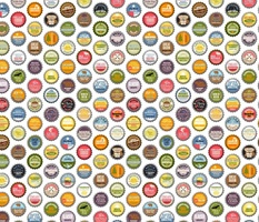 Soda Nation - 63 Bottlecaps of the U.S. National Parks || bottlecap bottle cap national park America United States nps polka dots typography cola travel summer food drink vacation