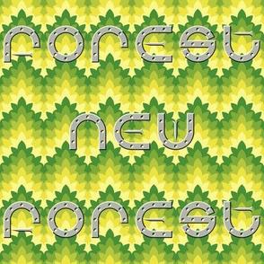 04430512 © new forest pony horseshoe text