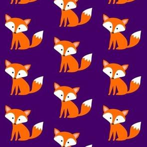 Sitting Fox Purple