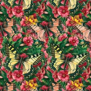 Butterfly Floral ~ Medium