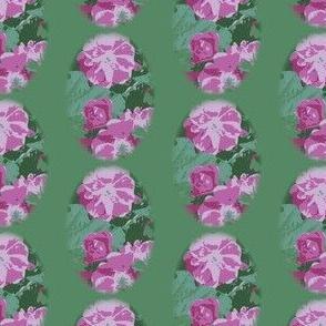 Medium Green Vintage Rose