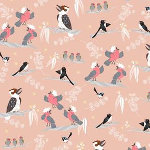 Aussie Bush Acapella - Pink