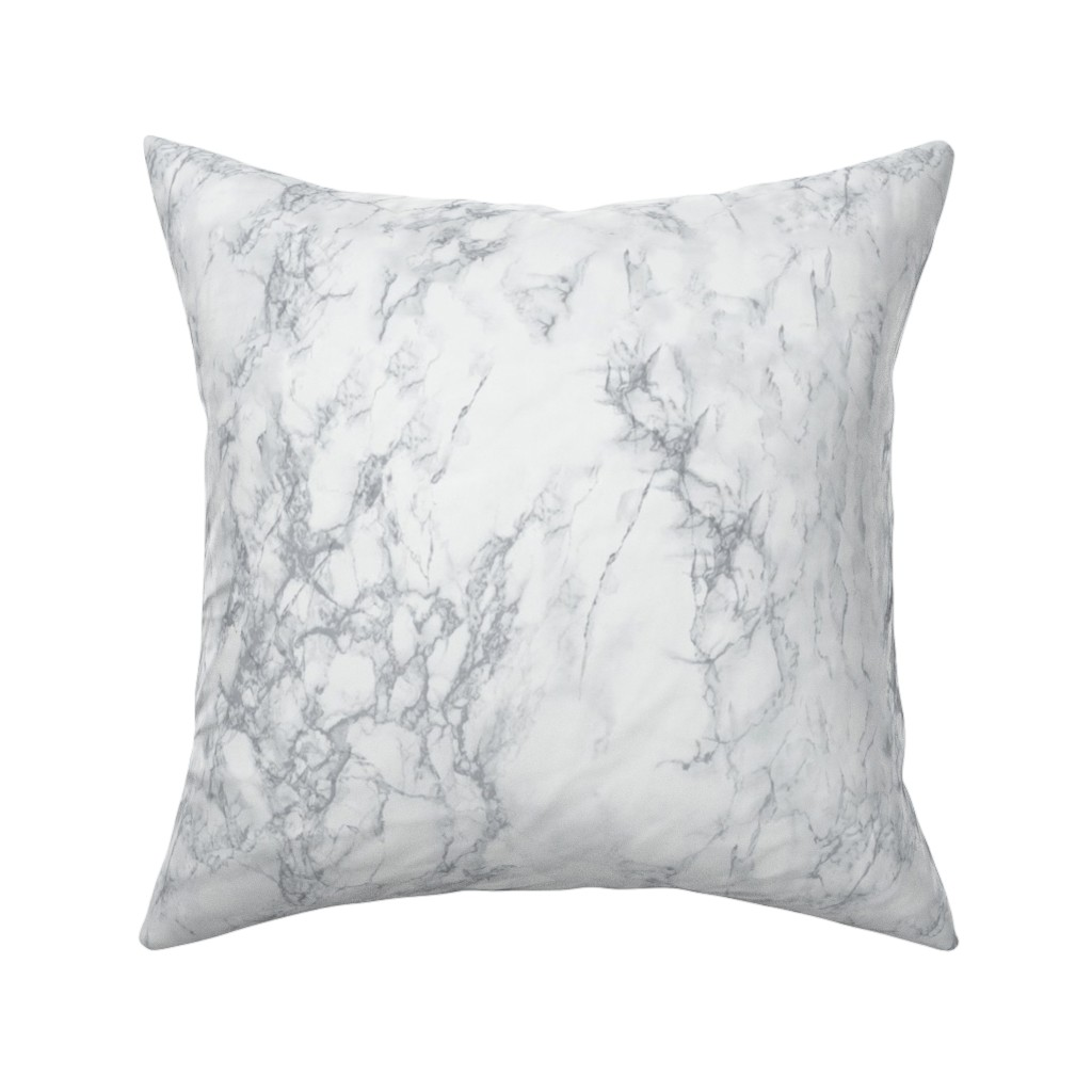 Catalan Throw Pillow featuring Marble  by kimsa