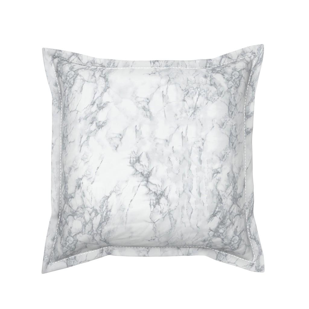 Serama Throw Pillow featuring Marble  by kimsa