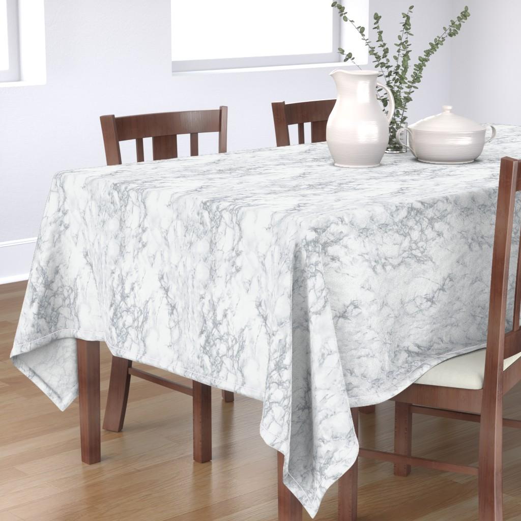 Bantam Rectangular Tablecloth featuring Marble  by kimsa