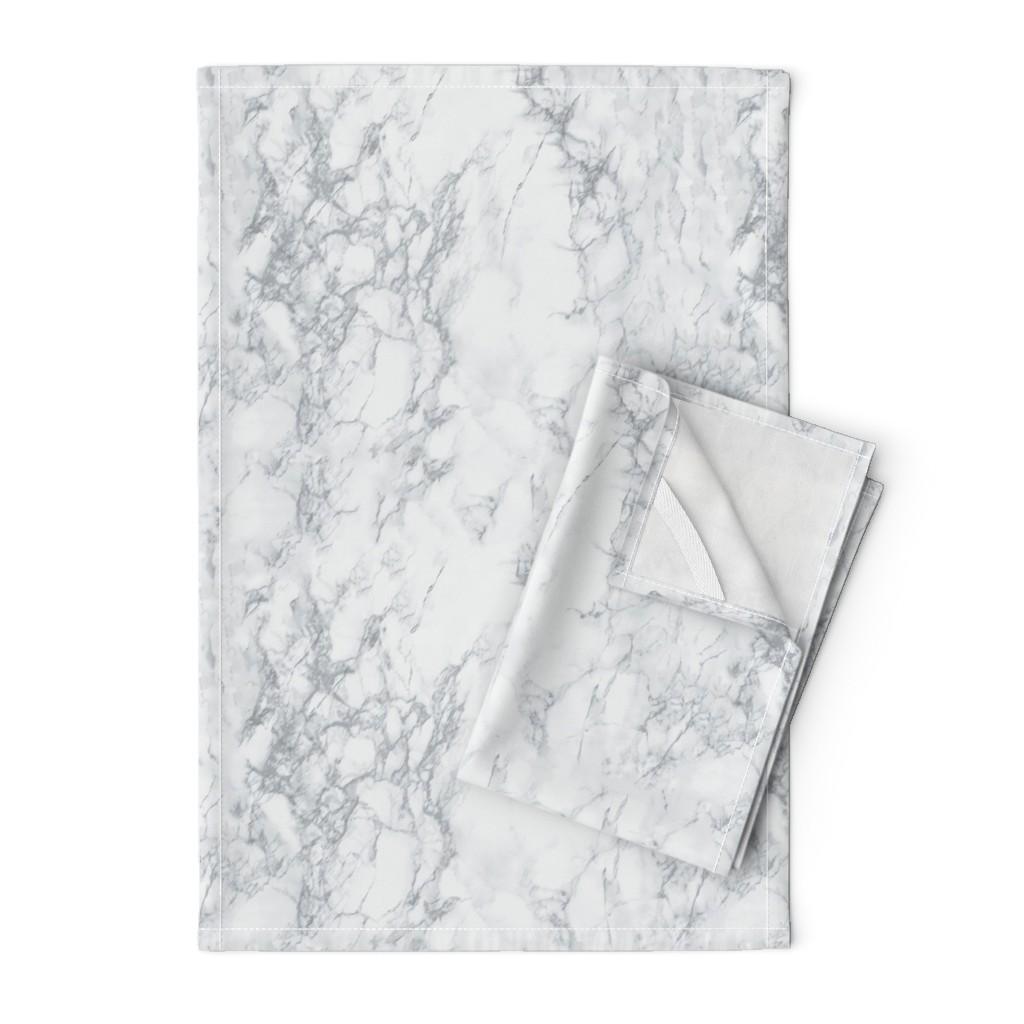 Orpington Tea Towels featuring Marble  by kimsa