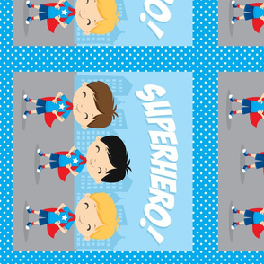 Superhero Panels 14x14