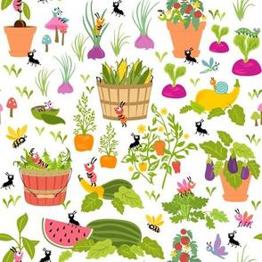 Little Cuties Garden: White