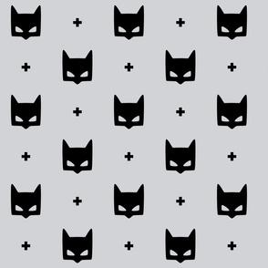 batmask + LG black grey #D2D3D6