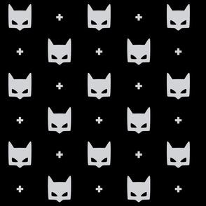 batmask + LG grey black