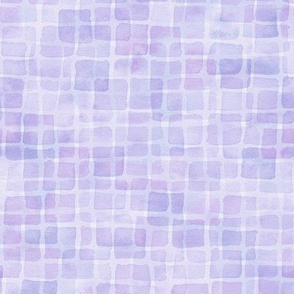 double periwinkle watercolor squares