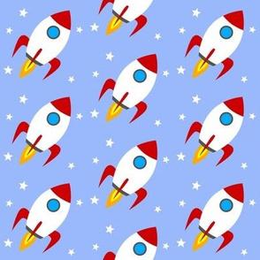 Rocket Stars Lightblue