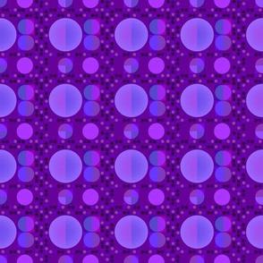 Purple Circle Garlands