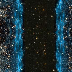 Stars // Blue Star Field Galaxy