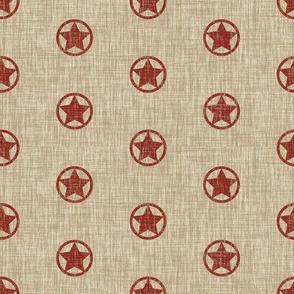 Western Stars - red