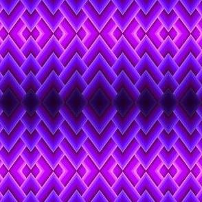 Purple Butterfly Chevron