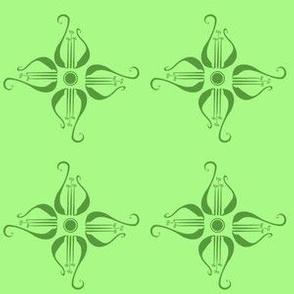 Green Lyre Flowers