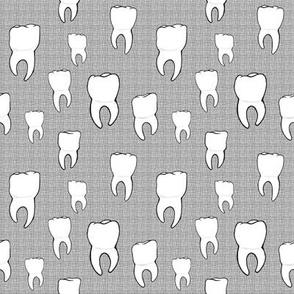 Teeth crosshatch