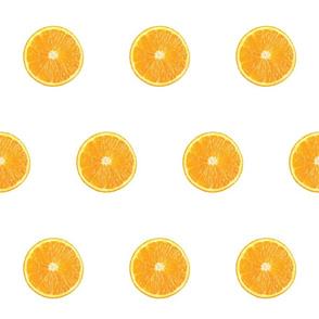Cirtus Polka Dots, Orange