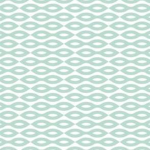 Ripples - Aqua (Small print)