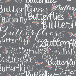 Font color flies