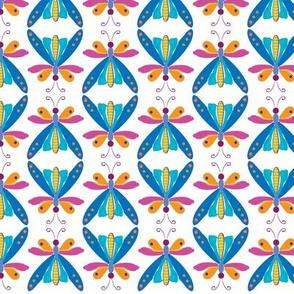 mini color butterflies