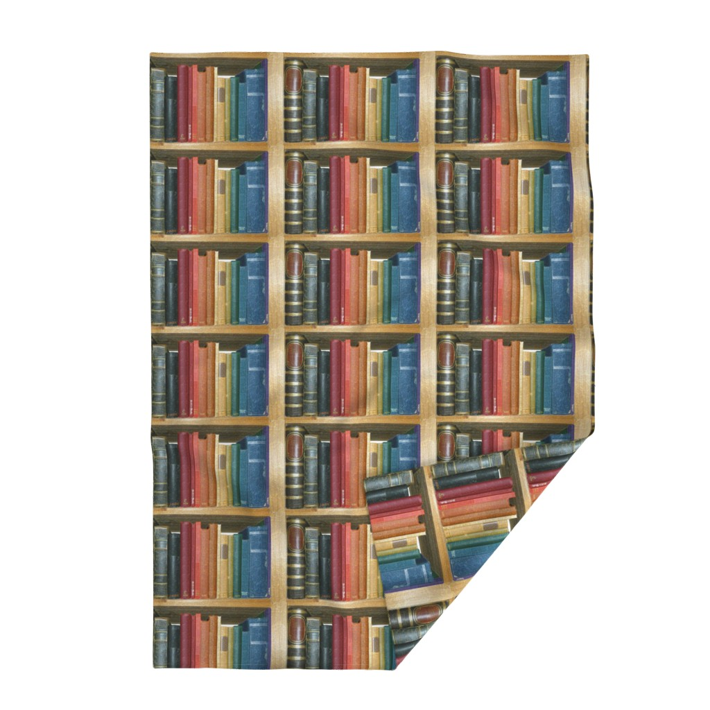 Lakenvelder Throw Blanket featuring bookshelfnotitles2 by et_al
