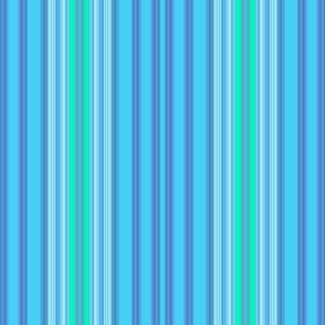 Light Blue and Green Stripes
