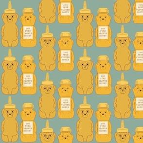 Honey Bears Blue