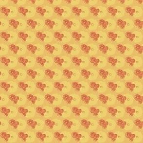 Flowers Orange Cream