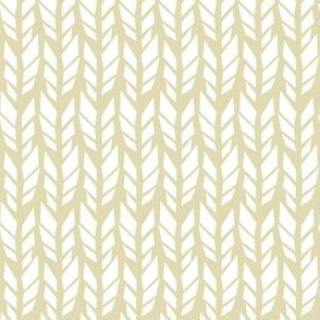 Arrow Feathers - White and Beige