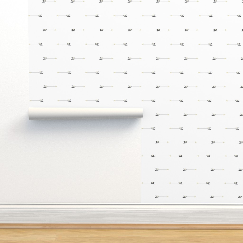 Isobar Durable Wallpaper featuring Swift Like an Arrow - Father Bear Collection by papercanoefabricshop