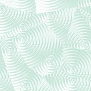 pale aqua ripples