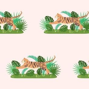 Tropical Jungle Tiger