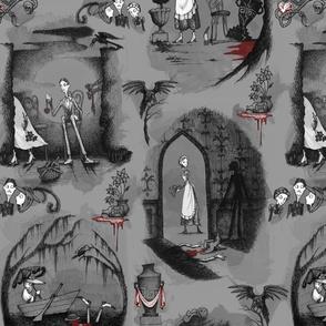 Murder is Afoot - gray