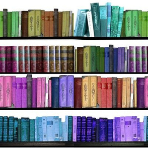 Rainbow Books Bookshelf